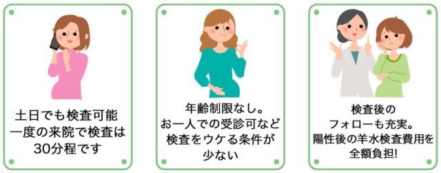 ラジュボークリニック NIPT 新型出生前診断 特徴