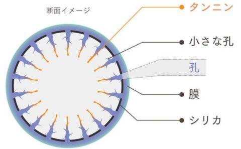 多孔質シリカナノカプセル