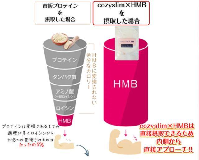cozyslim×HMB コージースリム 飲み方 効果
